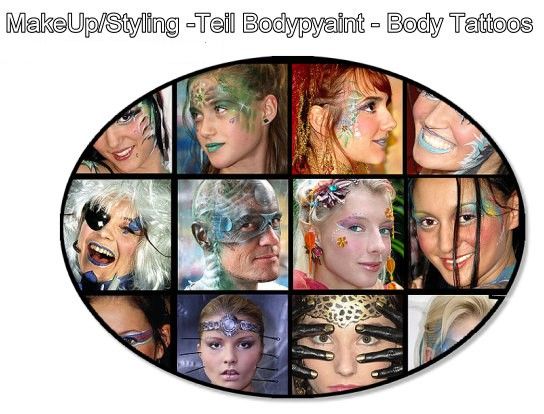 Special Makeup, make-up, make up, Schminke, schminken, Facepainting, Face painting, face paint, facepaint, Styling, style, Bodypainting, Bodypaint für das Gesicht, gesichtspainting, bodypaint face, body-painting for the face, Körperschminke, Schminken mit Bodypainting im Gesicht, Kinderschminken, Hairstyling, Haare, frisieren, Frisur by Christine Dumbsky